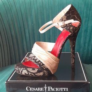 Cesare Paciotti high heels sandals size 39